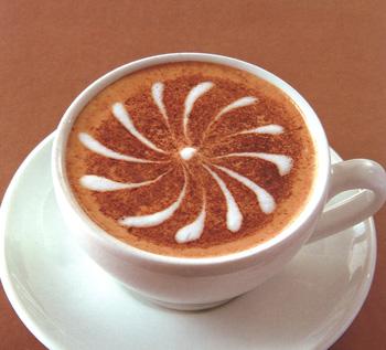 咖啡 拿铁/小太阳拿铁拉花咖啡
