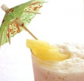 蔷薇椰凤 Coconut & Pineapple Smoothie