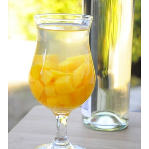 芒果桃子白葡萄酒桑格利亚 Mango and Peach White Wine Sangria
